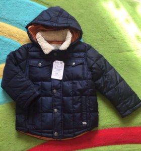 Куртка новая Zara, демисезон р-р 110