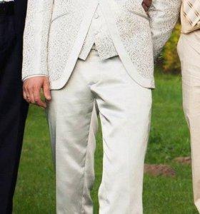 Свадебный костюм-тройка
