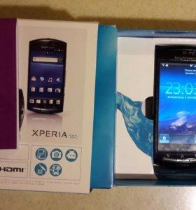 Смартфон Sony Ericsson Xperia Neo (MT15i)-Синий