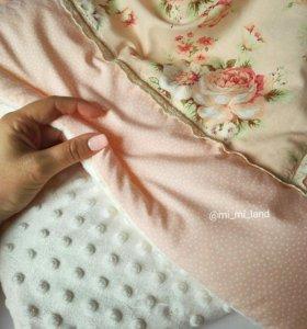 Конверт на выписку - одеялко