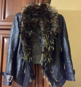 Куртка кожаная, р-р 46-50