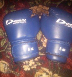 Боксерские перчатеи
