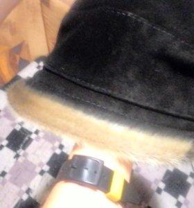 Шляпка зимняя натуральная