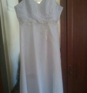 Продам шикарное свадебное платье!!