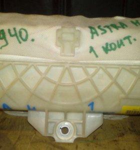 Подушка безопасности в панель Опель Астра H