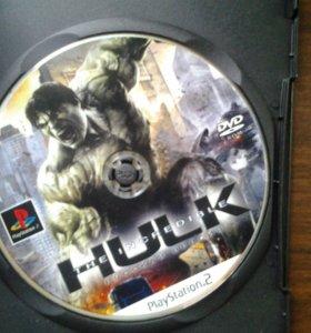 Игра Халк на Sony Playstation 2