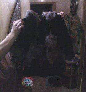 Шуба детская-2500,шапка детская1500
