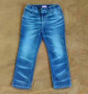 Детские утепленные джинсы