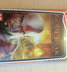 """Игровой диск для Sony PSP """"God of War"""""""