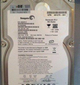 Жесткий диск Seagate 750 гб