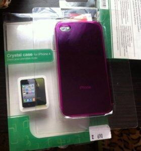 Бампер на iphone4