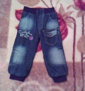 Новые джинсы с начесом