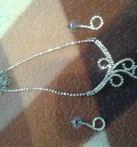 Подвески ожерелья,бусы,свадебное украшение