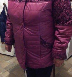 Демесезонная женская куртка