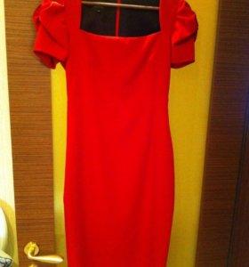 Красное платье ZAGAIA