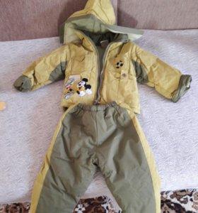 Зимняя куртка и штаники