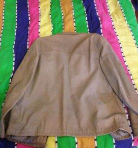 Кожаная куртка camel activ 48-50 размер
