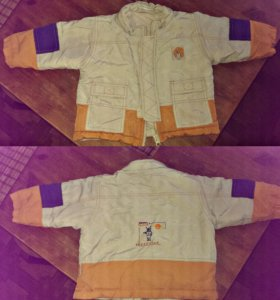 Куртка для мальчика на 1-1,5 год