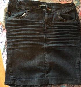 Юбки джинсовые новые. 46 размер.