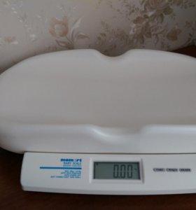 Детские электронные весы Momert