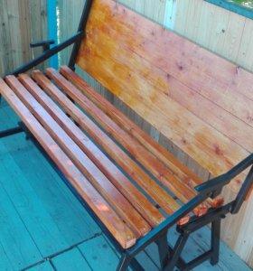 Стол скамейка трансформер