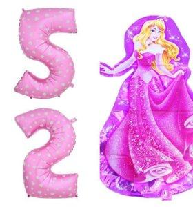 Новые шары 2 или 5 (1м) и принцесса Аврора