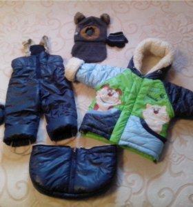 Зимний костюм,комбенизон