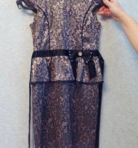 Праздничное платье для девочки 10-11 лет