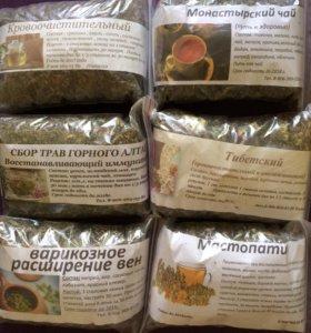 Алтайские травяные сборы, мёд и пчелопродукция