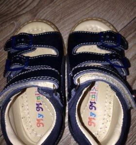 Ортопедические сандали новые 21 р