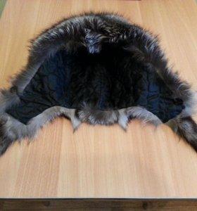 продаю женскую зимнюю шапку из чернобурки