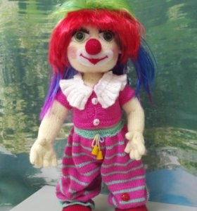 Кукла клоунесса