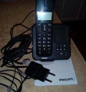 Филипс  телефон с автоответчиком.