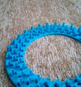 Круговой станок для плетения резиночками