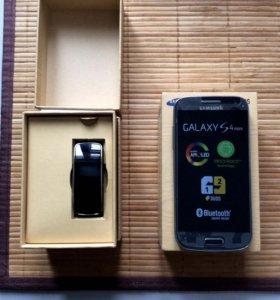 Samsung Galaxy S4 mini Duos 9192 + Galaxy Gear Fit