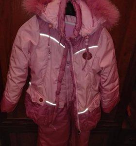 Комбинезон для девочки куртка + штаны рост 116см