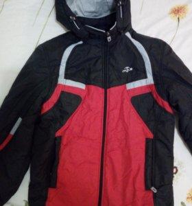 Куртка на мальчика лет 9
