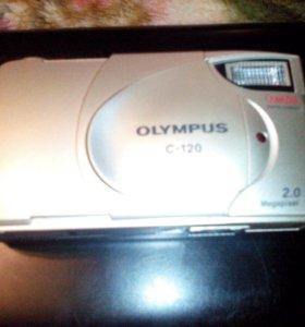 Фотоаппарат olympus c -120