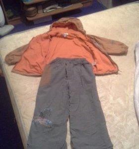 Осенний костюм на мальчика