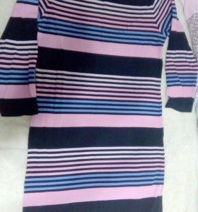 Платье трикотаж М