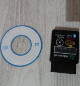 OBD сканер для диагностики  авто