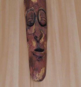 Настенная маска аборигенов