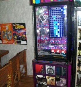 Игровой развлекательный аппарат тетрис