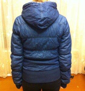 Куртка ONLY,джинсовая утепленная