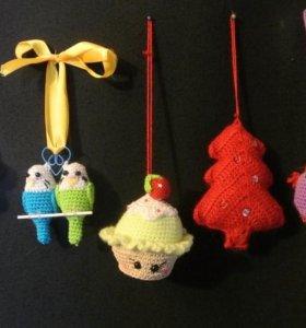 Безопасные новогодние игрушки на вашу елку!