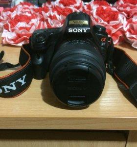 Цифровой зеркальный фотоаппарат Sony Alpha SLT-A37