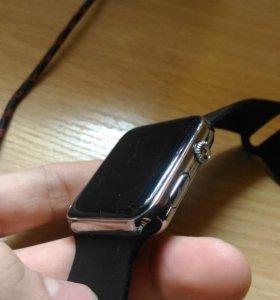 Копия apple watch (часы, календарь, секундомер)