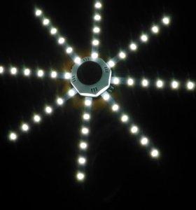 светодиодная лампа  цвет белый