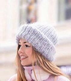 Шапка очень-очень теплая и модная Новая Ручная вяз