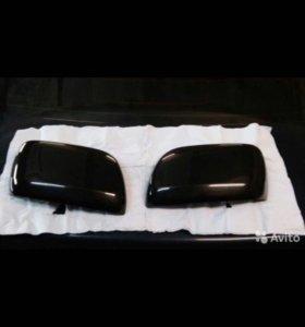 Накладки зеркал на Toyota Land Cruiser 200